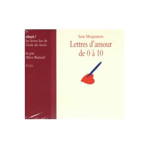 LETTRES D AMOUR DE 0 A 10 LIVRE LU
