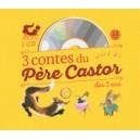 3 CONTES DU PERE CASTOR A ECOUTER DES 3 ANS + CD